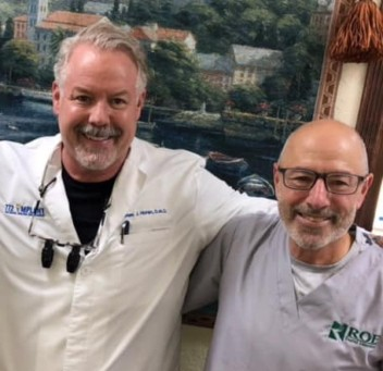 Dr. Horan with dentist Implant specialist periodontist